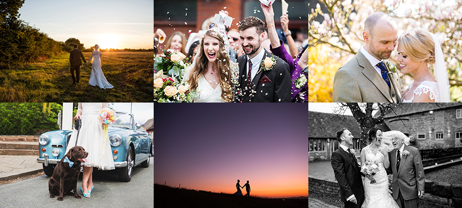 creative wedding photography Midlands