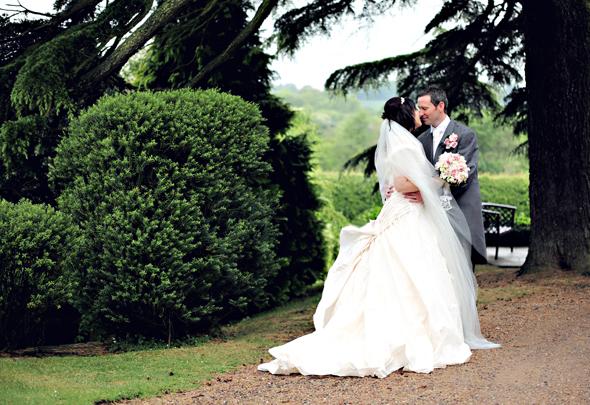 wedding at Nuthurst Grange