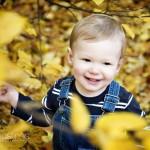 Fynnie's Autumn Portrait Shoot