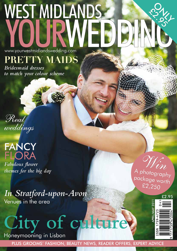 Published work in Your West Midlands Wedding
