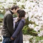 Rebecca & John Engagement Shoot Birmingham Botanical Gardens