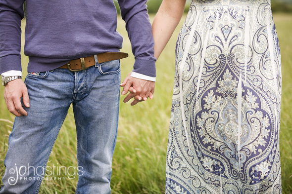 Engagement shoot in Rugby