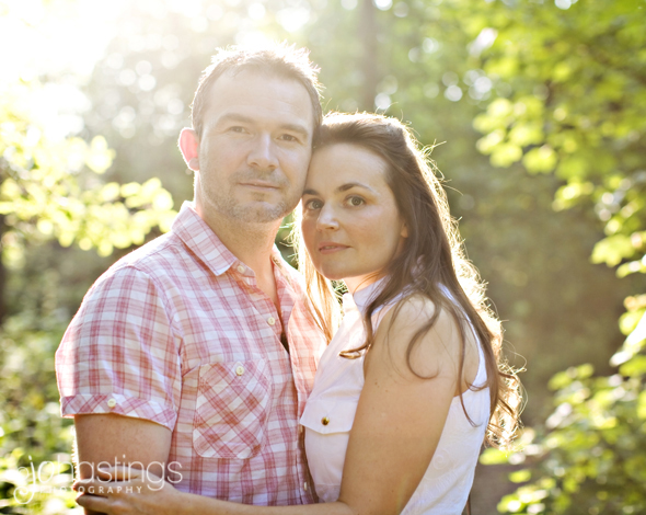 Engagement shoot Alrewas