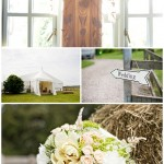 Chris & Nicky - A country wedding at Hill Farm, Middleton