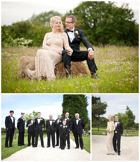 country wedding in staffordshire