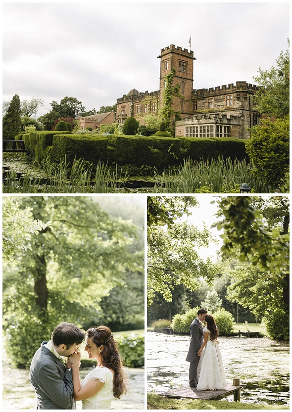 English wedding at Newhall