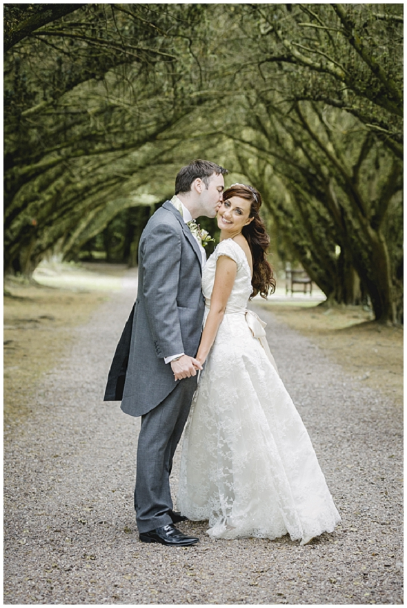 relaxed wedding at Newhall