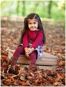 Autumn Family Portrait Photography Solihull