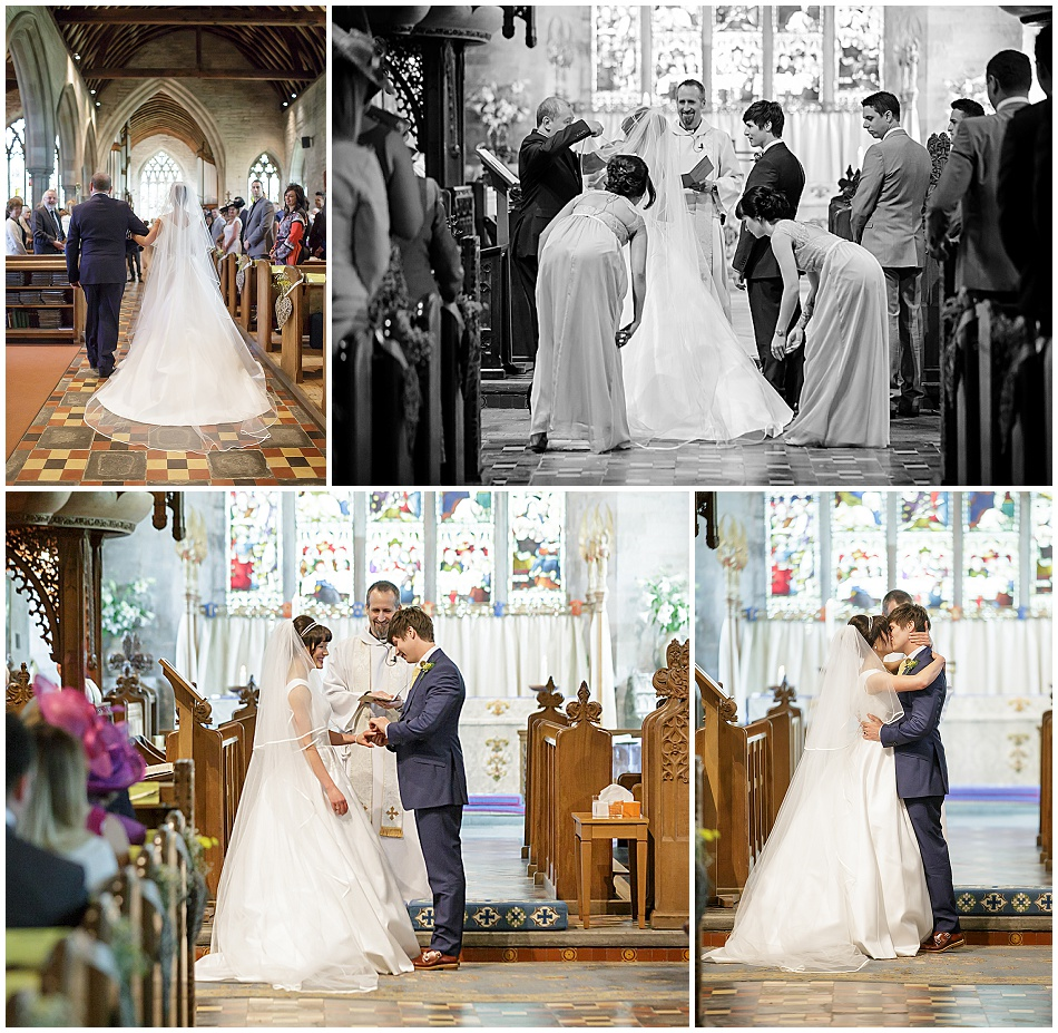 St Mary Magdalene Church Wedding Tanworth in Arden