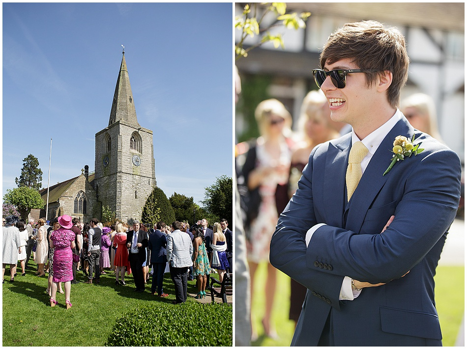 Ben Hanlin Wedding Tanworth in Arden