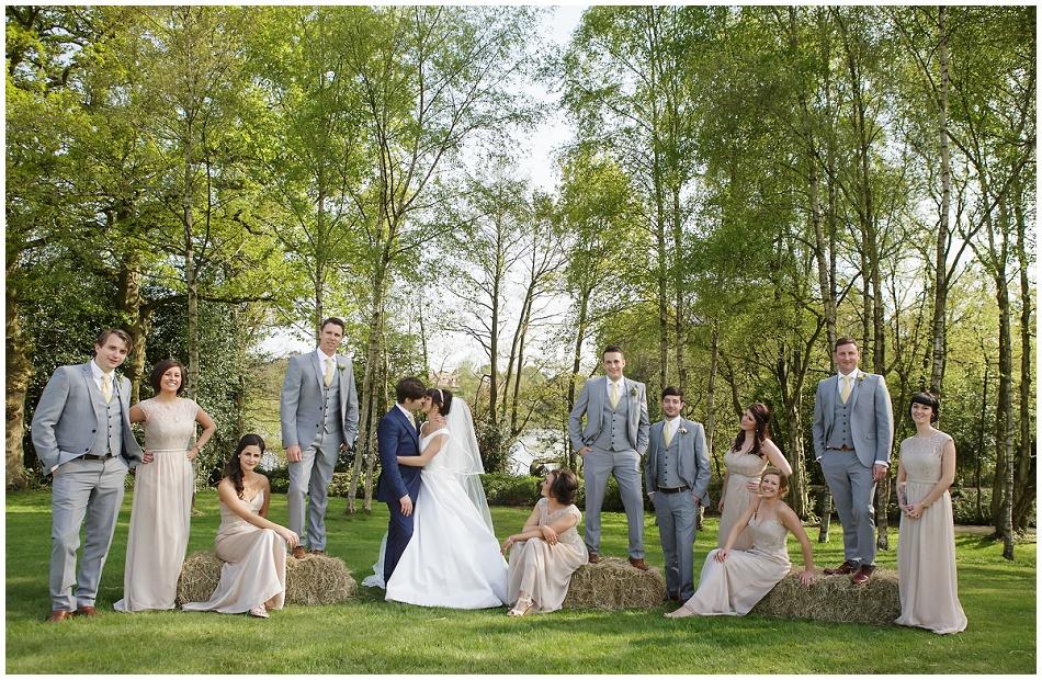 Dancing on Ice Star Ben Hanlin wedding photos