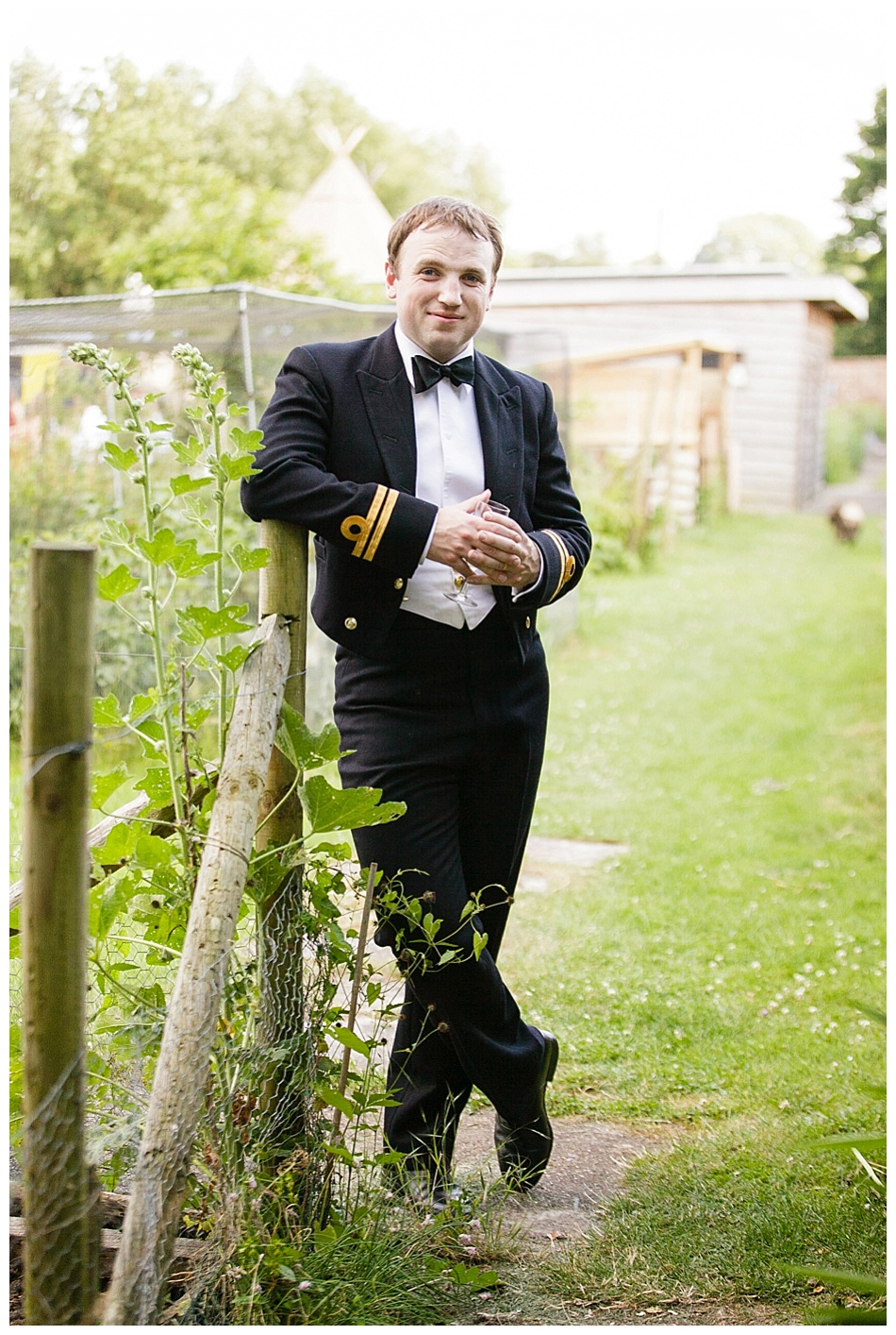 Relaxed wedding at Talton Lodge