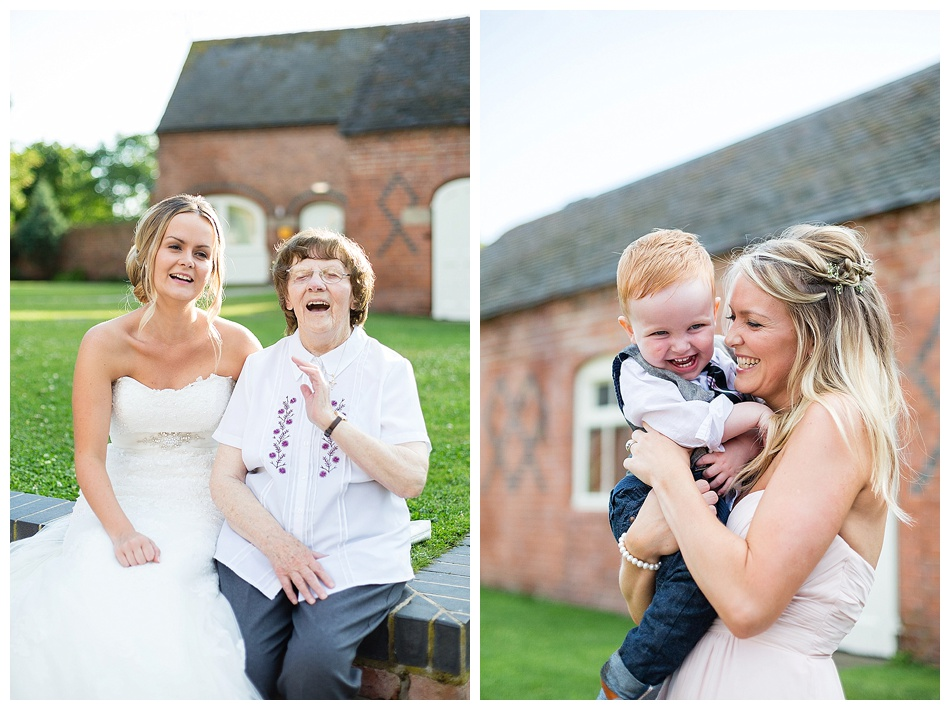 natural wedding photography at Alrewas Hayes