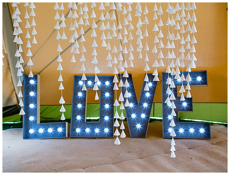 giant light up letters