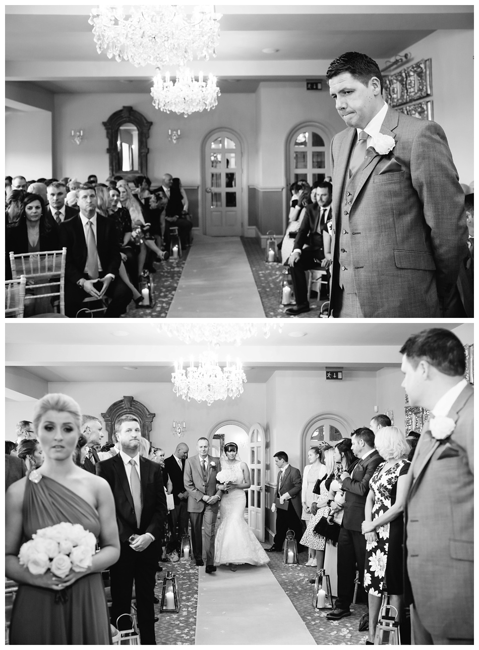 Winter wedding at Weston Hall