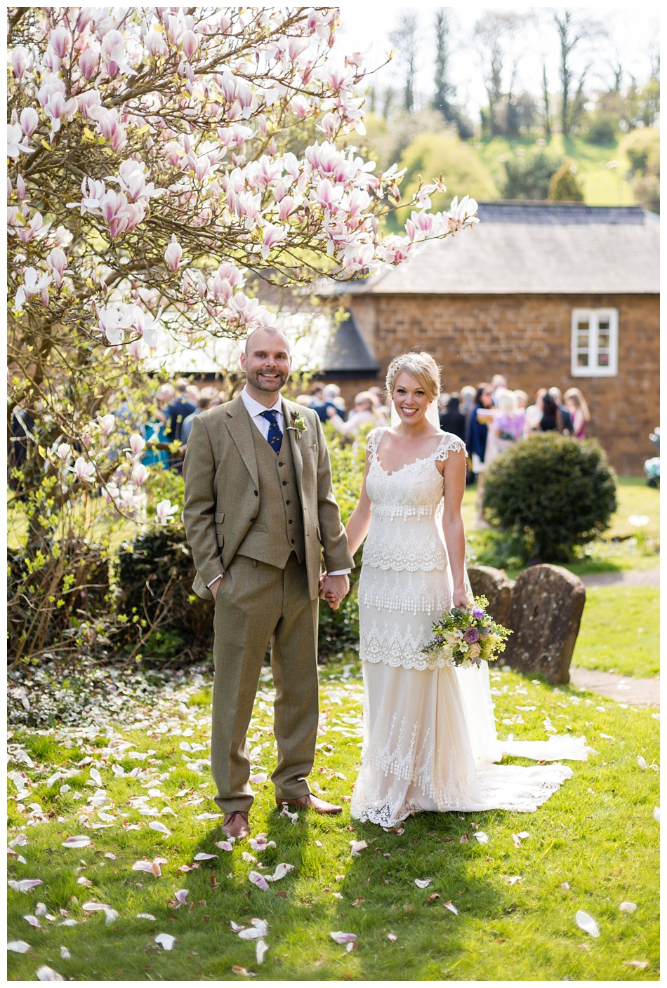 Spring wedding in the Cotswolds