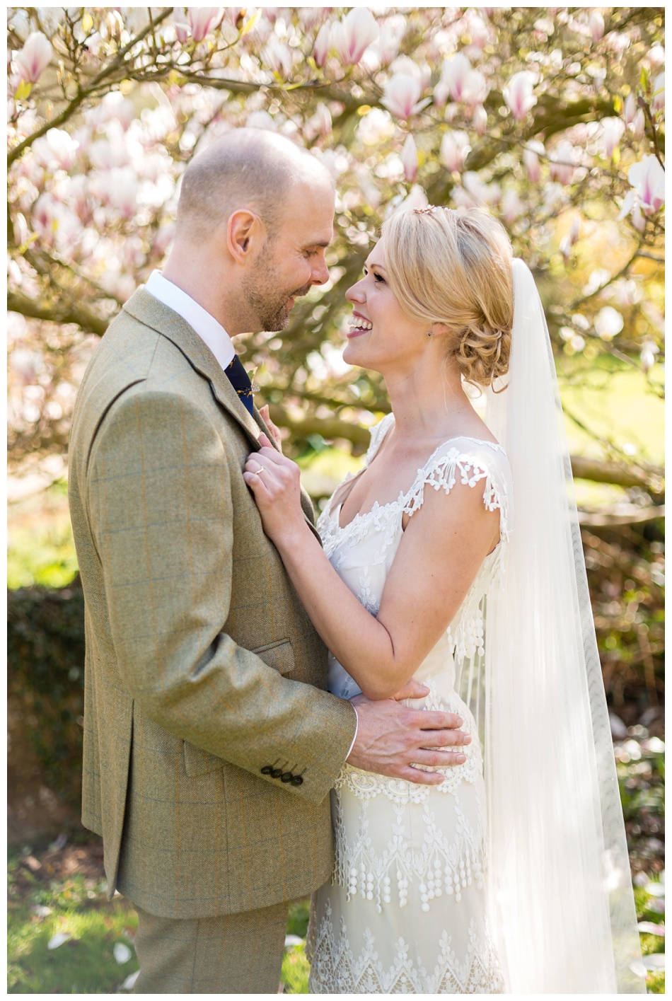 Spring wedding at Ettington Park