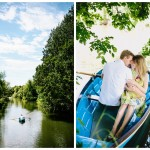 Rowing Boat Engagement Shoot - Katie & Richard