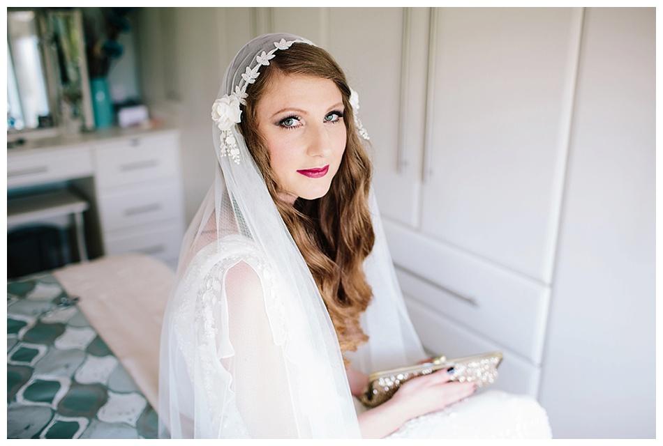 Bride in Eliza Jane Howell