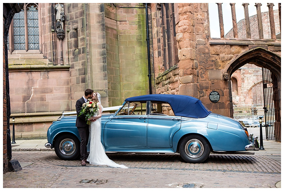 wedding at St Marys Guildhall Coventry
