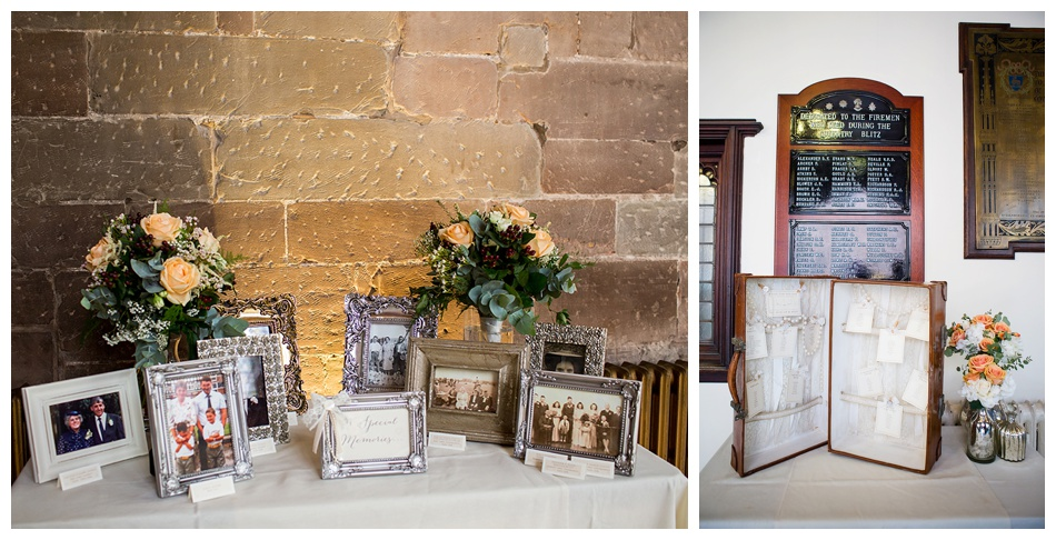 vintage wedding at St mary's Guildhall, Coventry