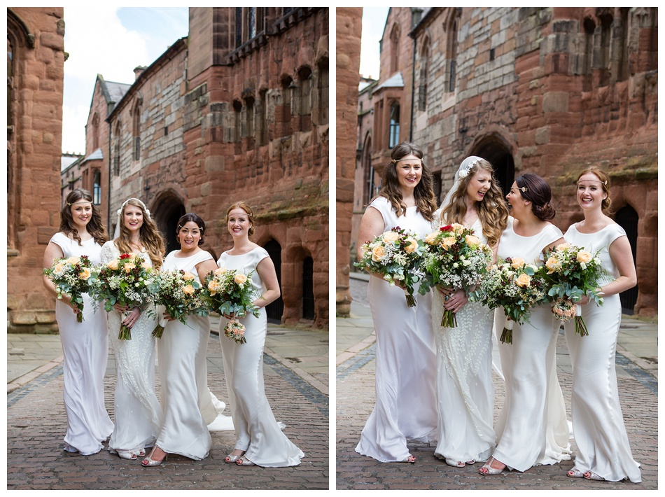 Bridesmaids in Ghost
