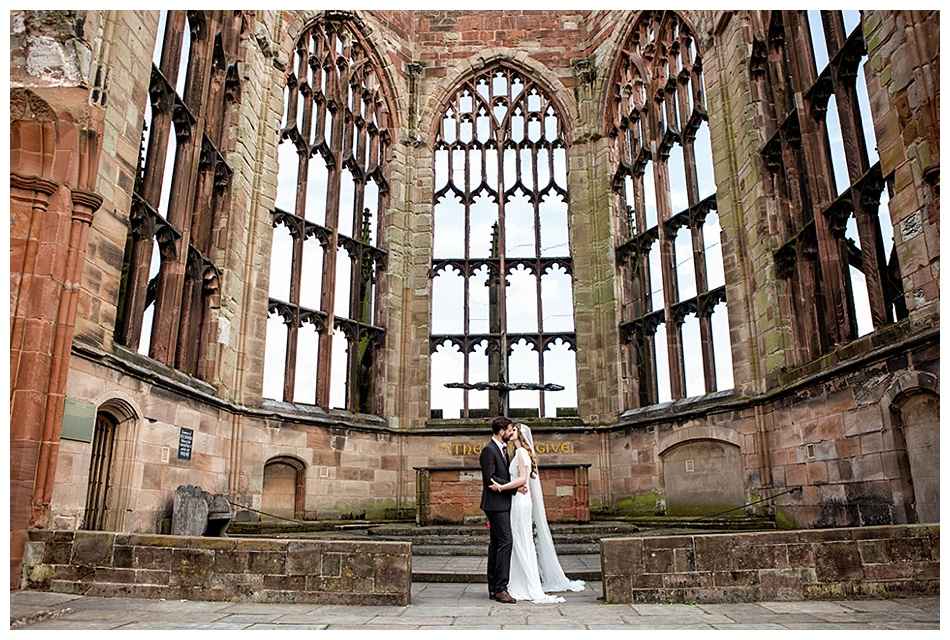 Coventry Cathedral Wedding
