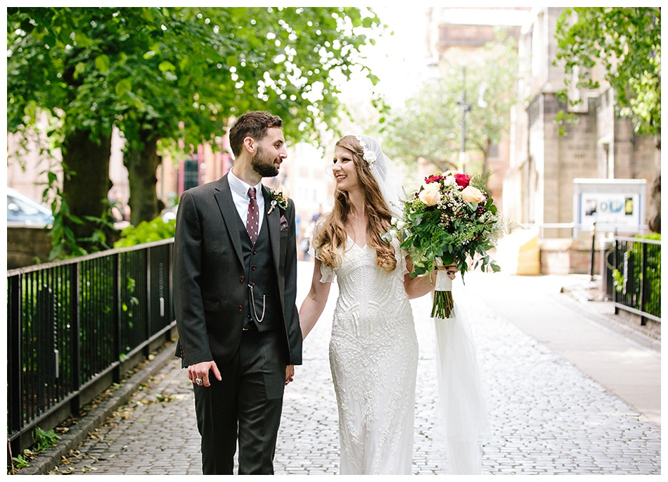 City wedding in Coventry