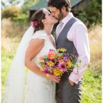 Colourful Marquee Wedding Worcestershire - Rachel & Martin
