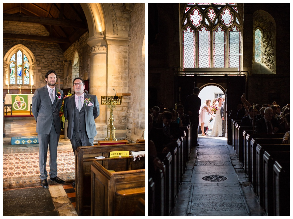 wedding at Holy Trinity Church, Eckington