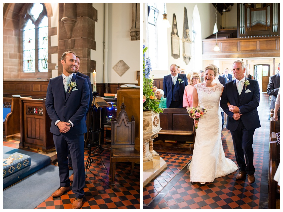 St Giles C of E Church Wedding