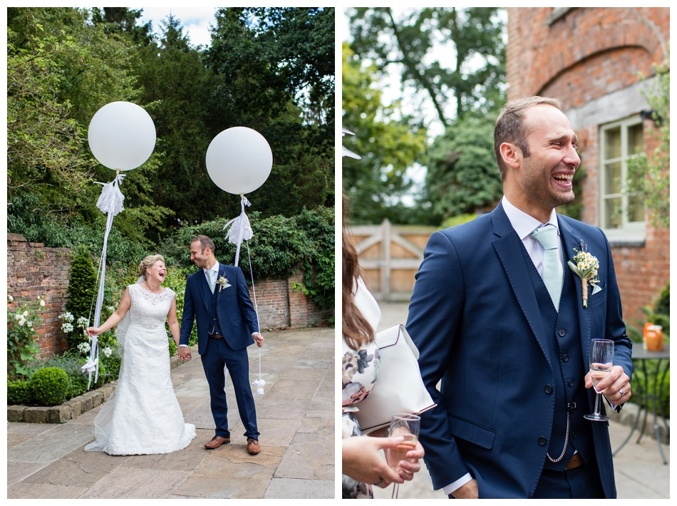 Wedding photographer at Shustoke Barn, Warwickshire