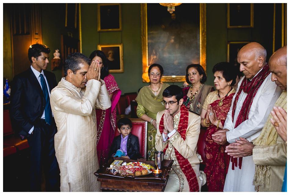 sehra bandhi ceremony