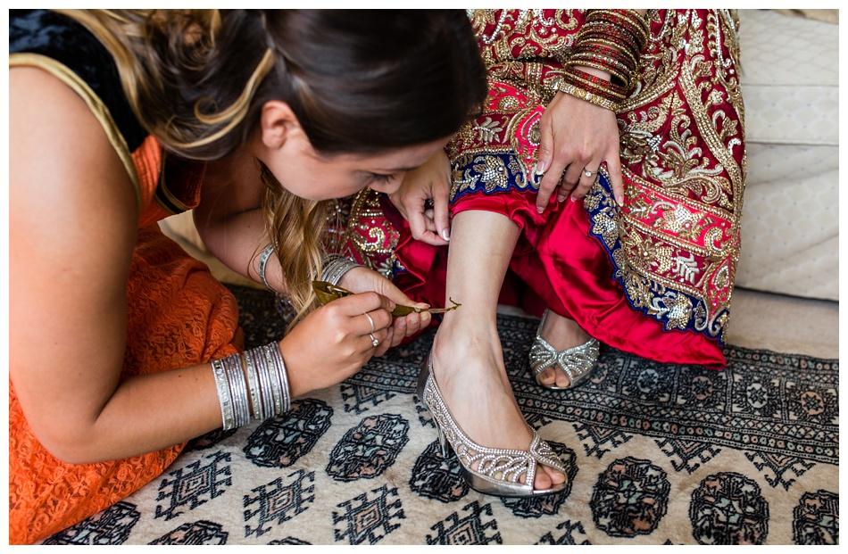 Indian wedding photography at Heath House