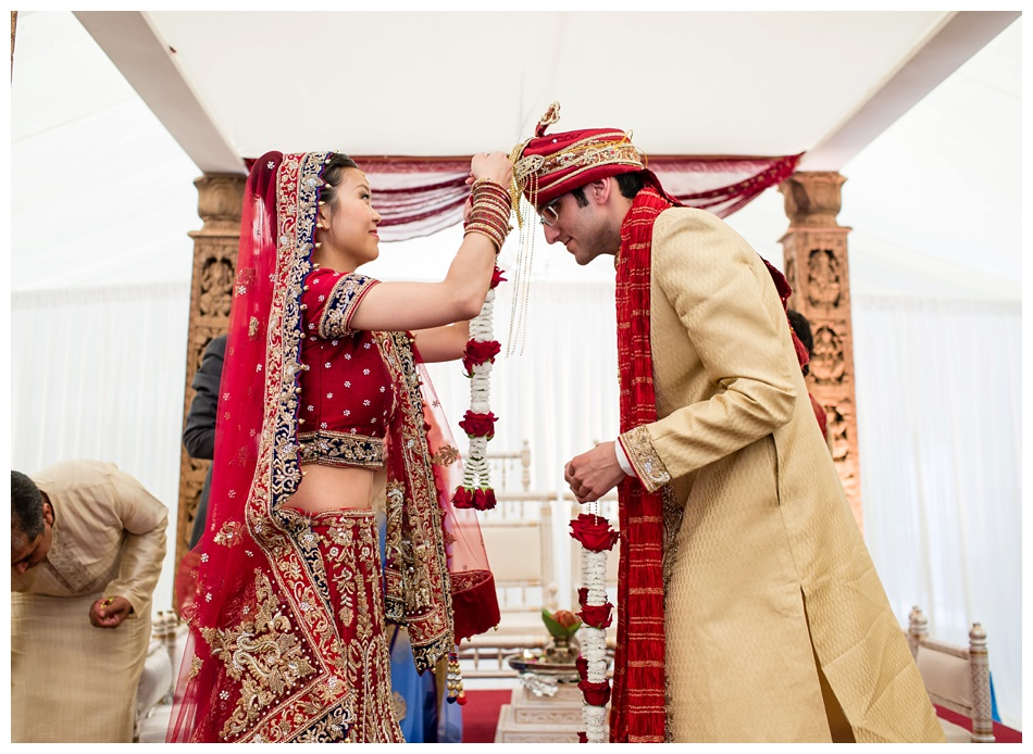 Indian wedding at Heath House