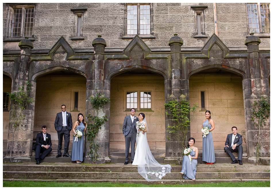 wedding at Heath House