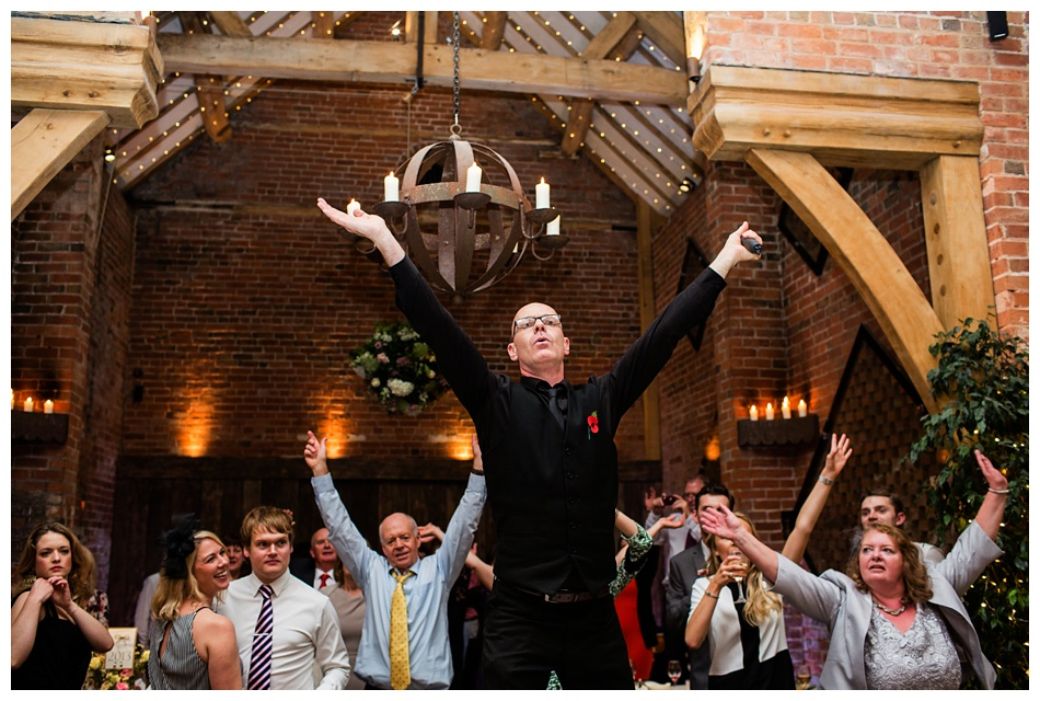 wedding photos at shustoke farm barns