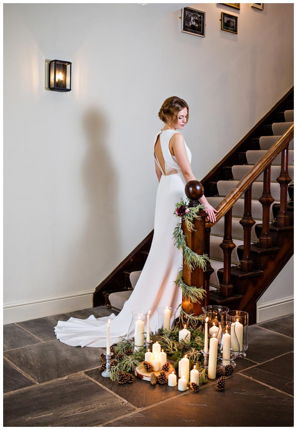 winter wedding styled shoot Uk