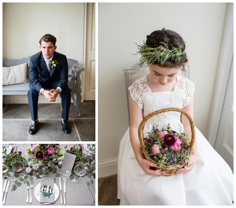 modern winter wedding inspiration