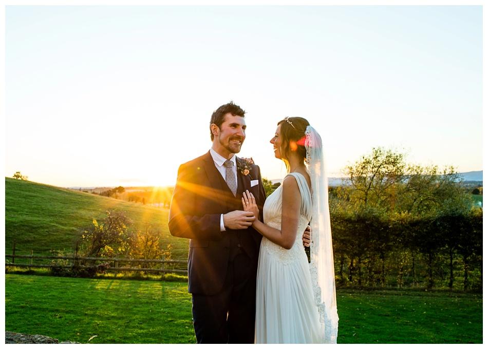 Autumn wedding at Deer Park Hall