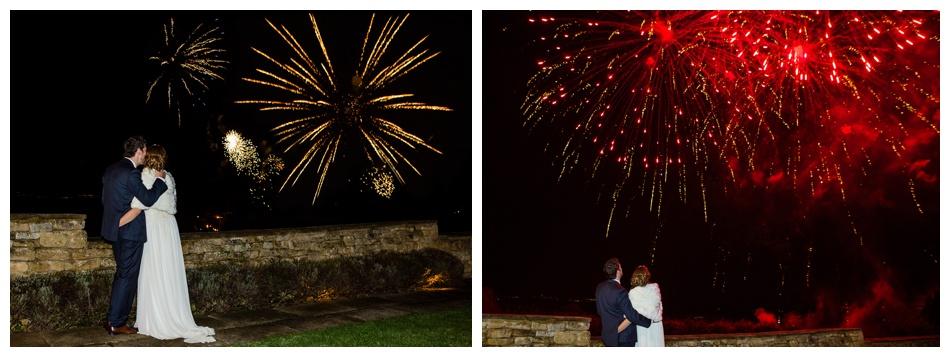 Fireworks at Deer Park Hall