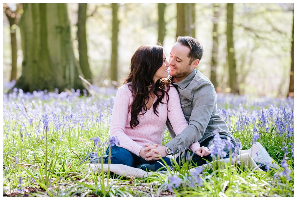 Bluebell Engagement Shoot