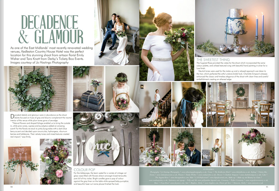styled shoot feature