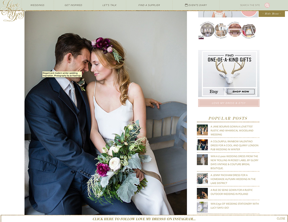 featured on love my dress