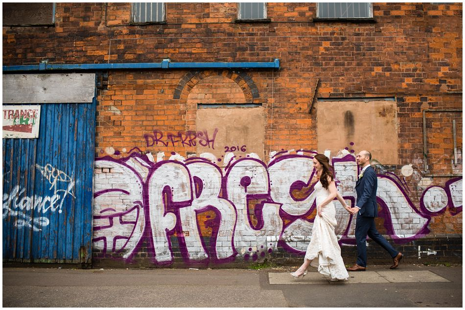 A City wedding in Birmingham