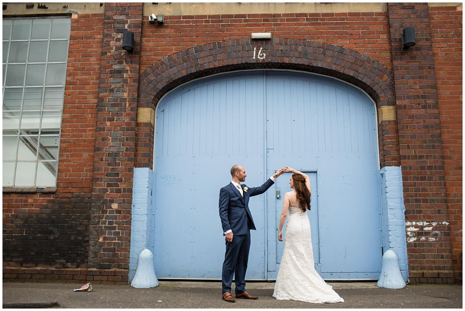 A wedding at Fazeley Studios in Birmingham