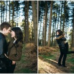 Laura & Thomas - Cannock Chase Engagement Shoot