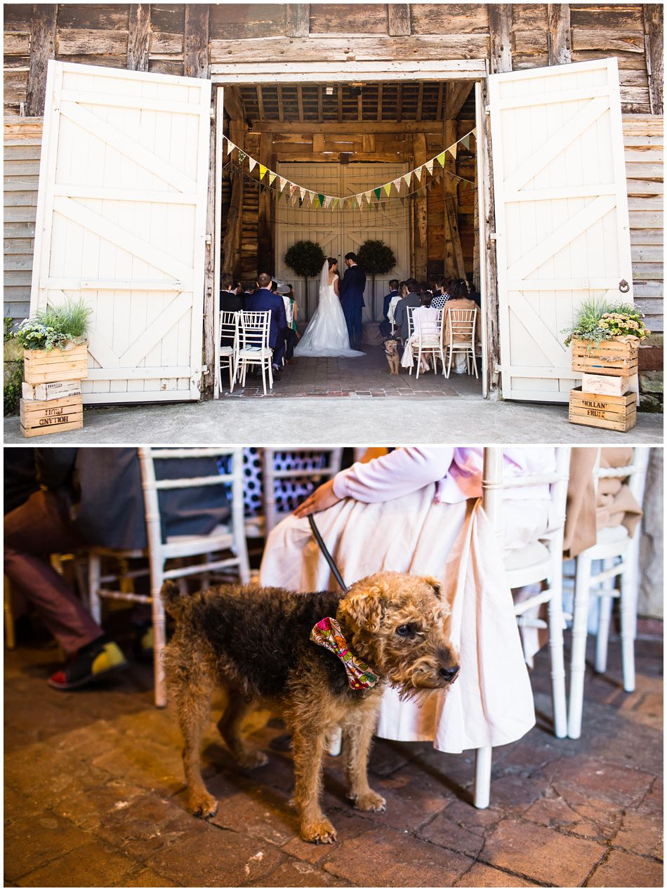 country wedding at Pimhill Barn