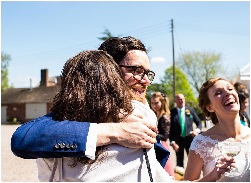 relaxed wedding at Pimhill Barn