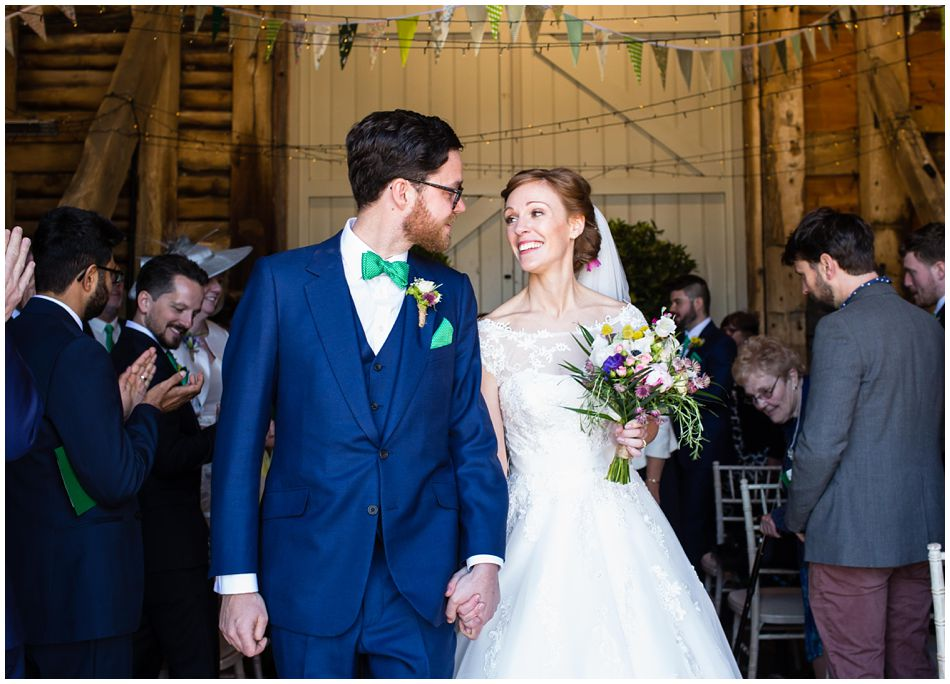 wedding photos at Pimhill Barn